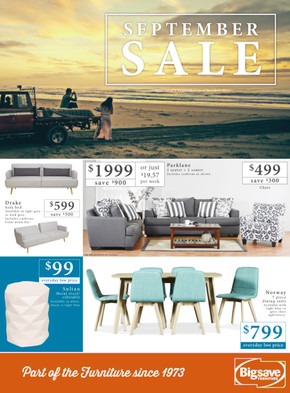 Big Save Furniture deals